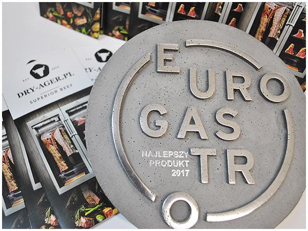 Nagroda Eurogastro dla szafy do dojrzewania wołowiny Dry Ager